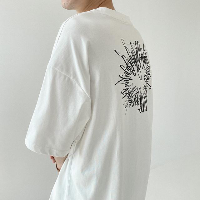 モノトーンロゴTシャツ