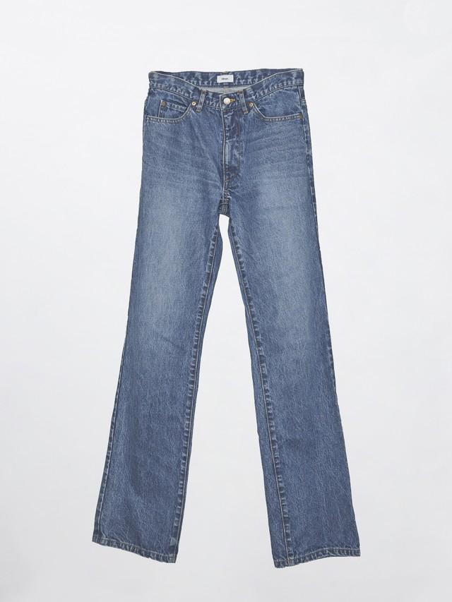 Allege 5P Flare Denim Pants Blue AL20W-PT06A