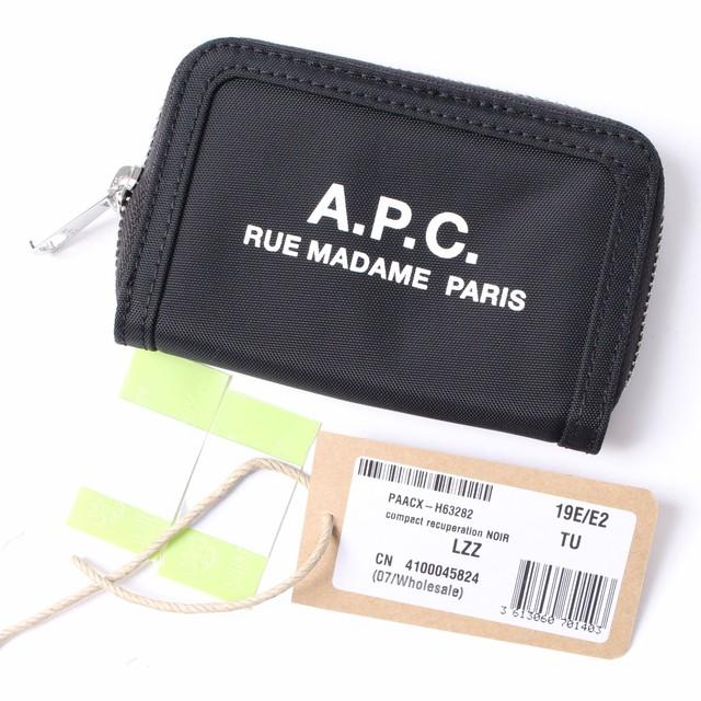 size 40 f46ef b07fe A.P.C.(アーペーセー) コンパクトジップミニ財布 カードケース コインケース PAACX H63282 r013844 | KASHI KARI  LABO ストア powered by BASE