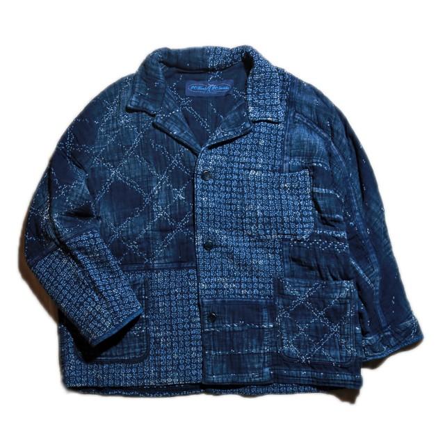Porter Classic - Kogin (こぎん) Jacket - BLUE [PC-051-1500]