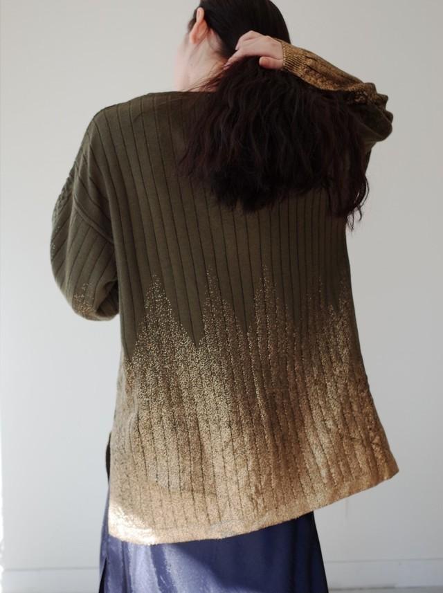 used gold leaf knit