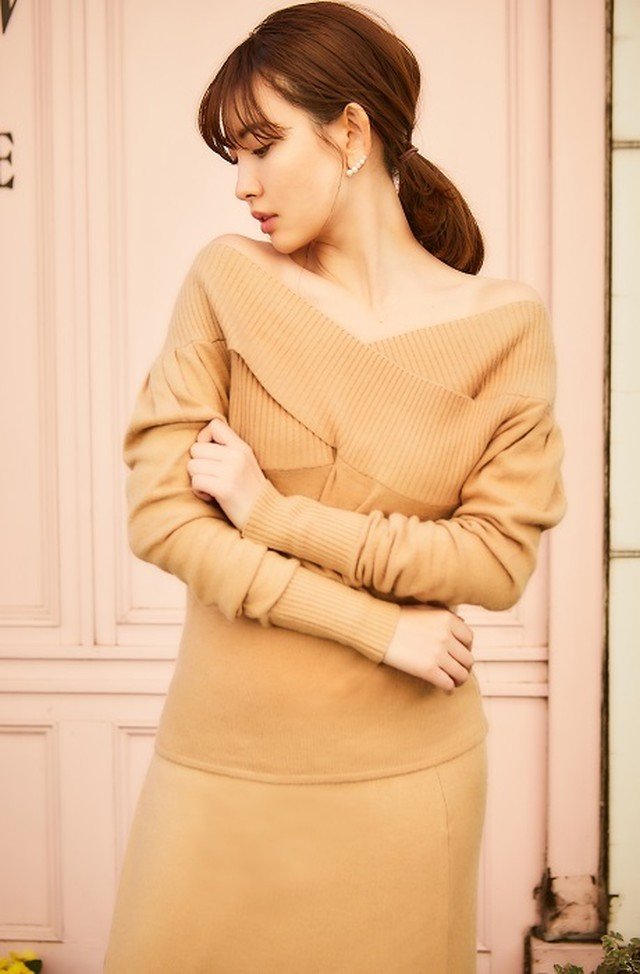 Cashmere Touch Knit Tops