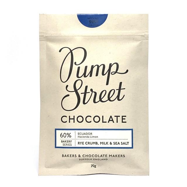 パンプストリートベーカリーチョコレート ライクラム ミルク&シーソルト