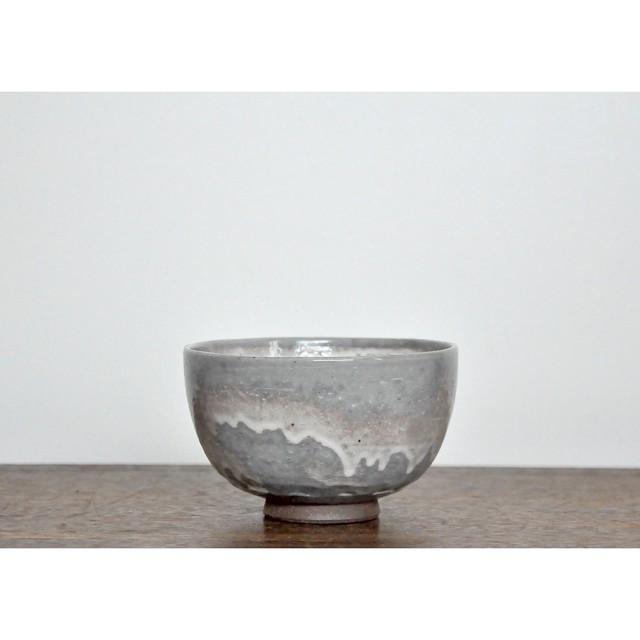 【 抹茶碗 - gray purple - 】和食器 / 小丼 / 茶碗 / ミルクボウル /  陶器 / うつわ / vintage / japan