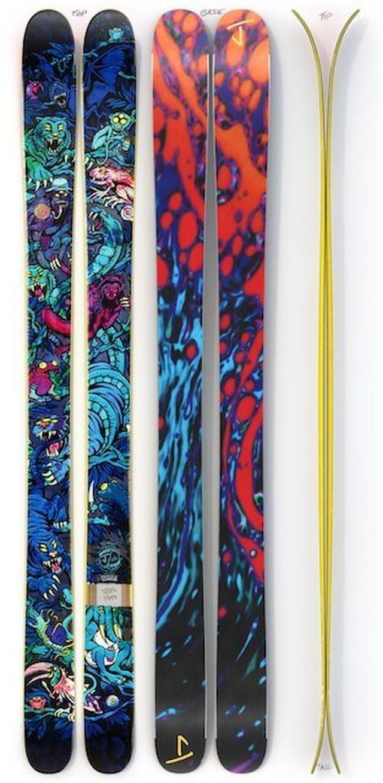 J skis - ホットショット「ノクターナル・デイドリーム」ライアン・シミーズ x Jコラボ限定版スキー【予約販売】