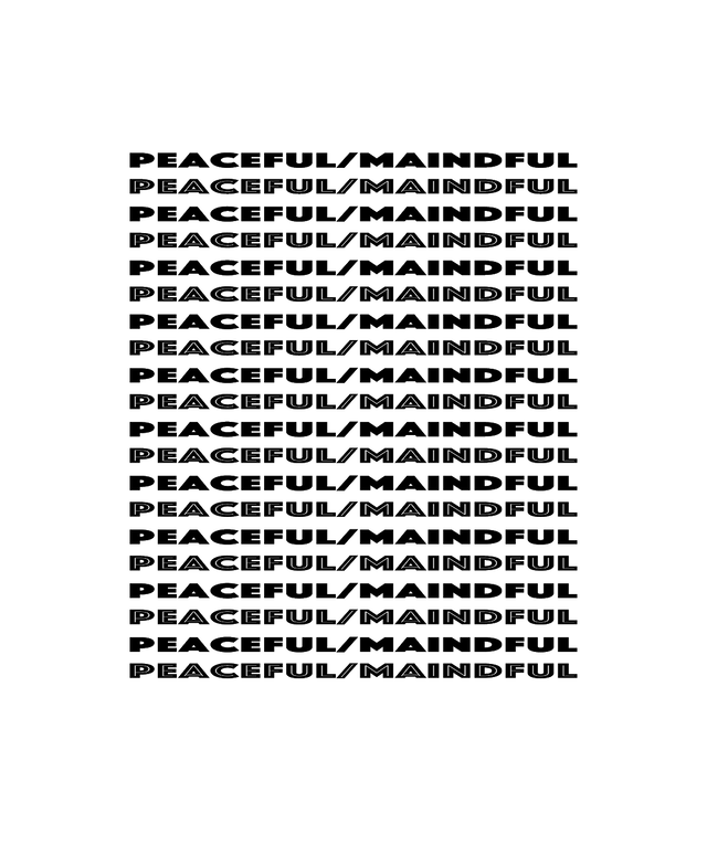 Peaceful/Mindful スマホリング