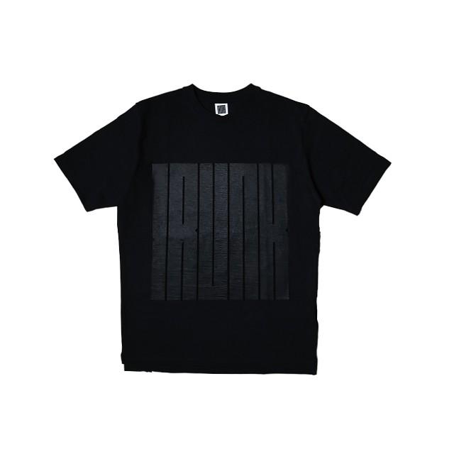 TRUNK Logo Tee Black×Black