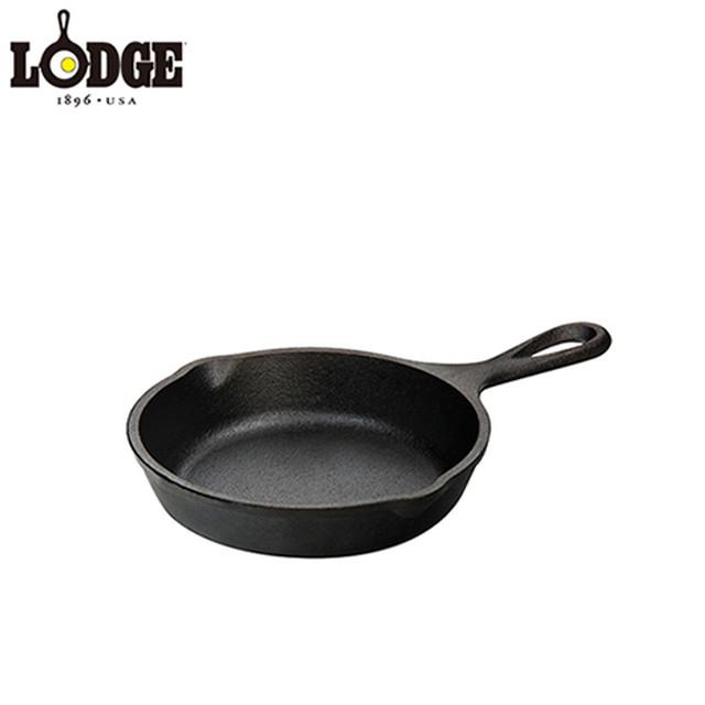 """LODGE ロッジ LODGE LOGIC OLD STYLE ROUND GRIDDLE 8-3/8"""" DIAMETER ロジック ラウンドグリドル 8-3/8インチ L60G3"""