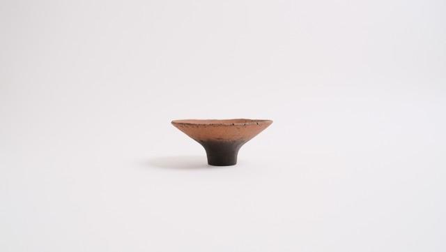 No.27 茶土高台杯 Sサイズ / 高田かえ・Kae Takada