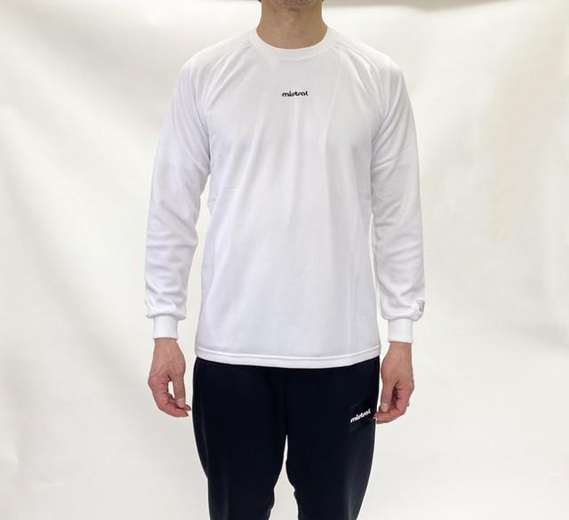 ミストラル メンズ [ HP-DRY 長袖Tシャツ -ベーシック- ] WHITE