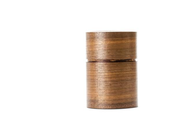 樺細工茶筒 大|くるみ