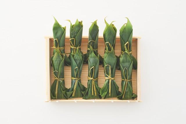 笹包みわらびもち 祥緑(10本)