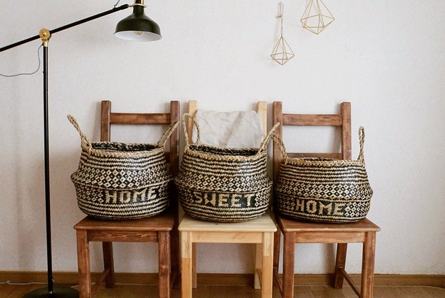 Home sweet home basket