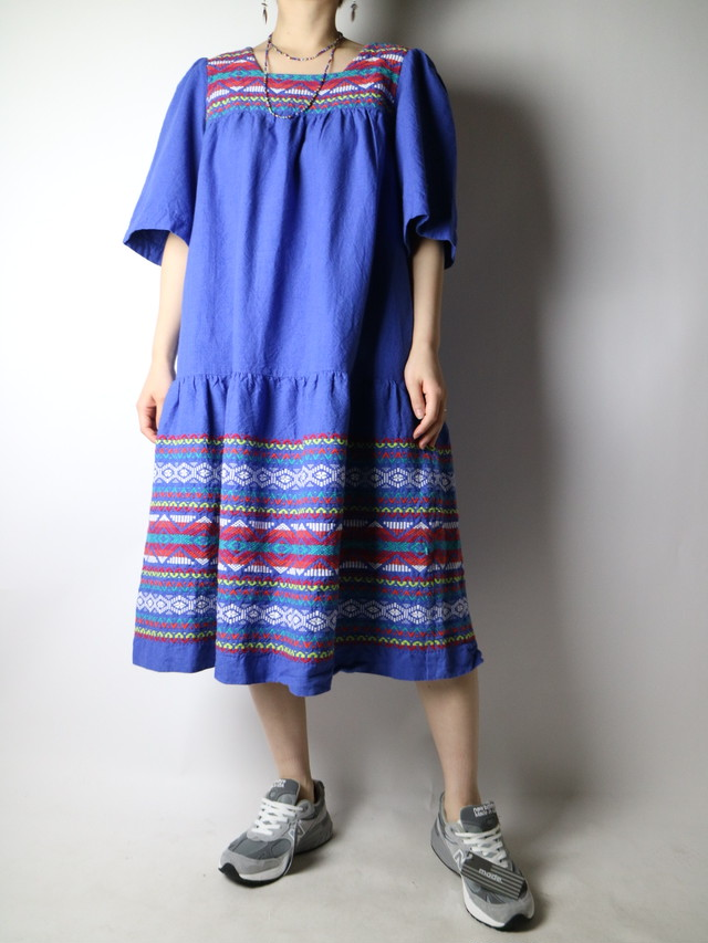 Guatemala embroidery dress【1047】