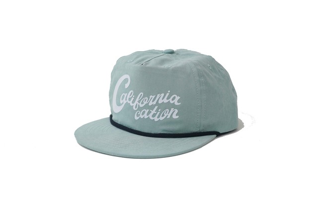 SURFSKATECAMP #Californiacation Cap Sage ¥6.300+tax