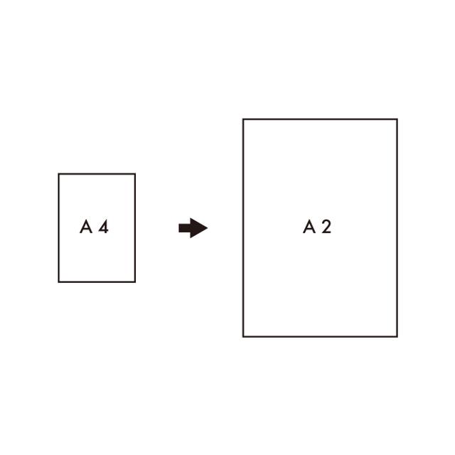 [A2]サイズアップ