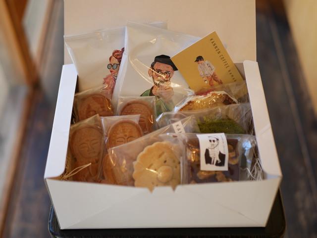 自家製の焼き菓子&コーヒーセット