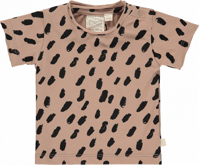 LAST1! Mini Sibling/Short Sleeve Top cacao