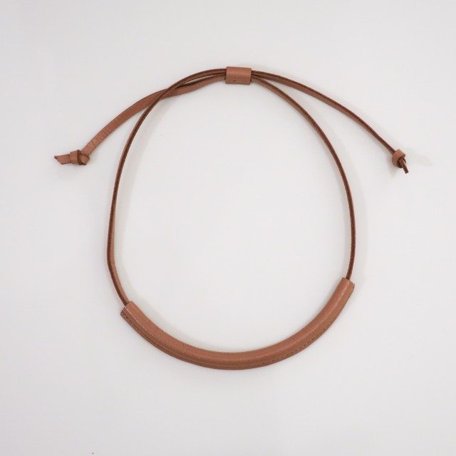 Enclose Leather - Choker / Camel