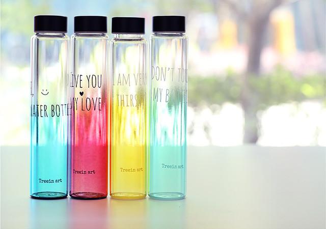 Glass Bottle - slender