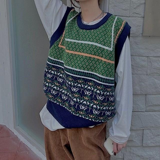 Retro design vest KRE720