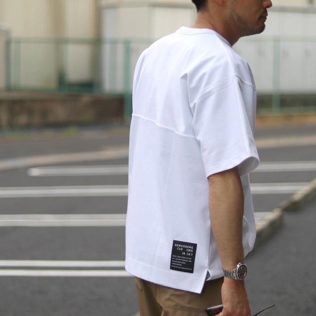 Loungie/ラウンジ ワンポイント刺繍カットソー LER-2138