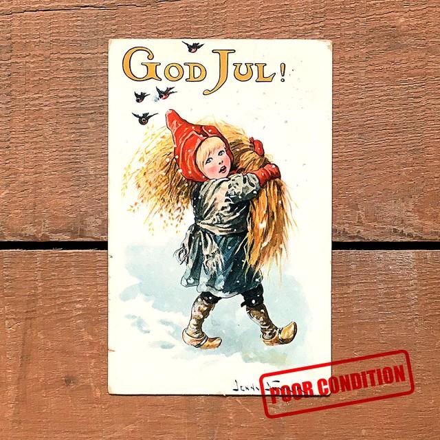 クリスマスカード「Jenny Nyström(イェニー・ニィストルム)」《201204-03》