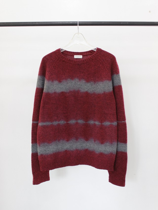 Used DRIES VAN NOTEN breach knit