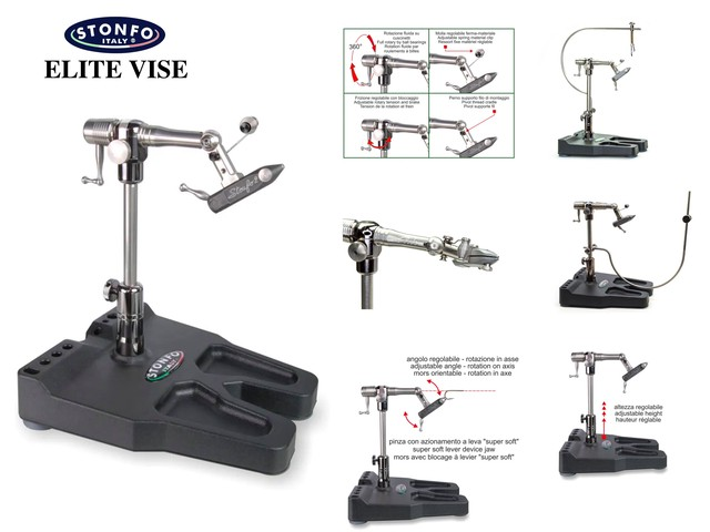 【 STONFO 】 ELITE VISE  article serial 653 + T6 Aluminum Tying Tool Holder
