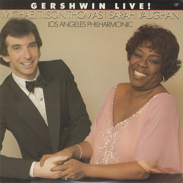 Michael Tilson Thomas, Sarah Vaughan, Los Angeles Philharmonic ‎/ Gershwin Live! (LP)