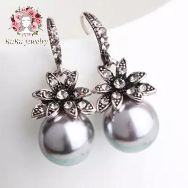 Luxury pearl(pierce)