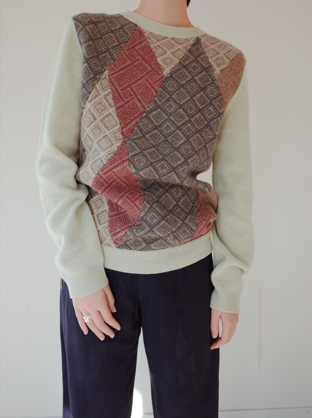 used DRIES VAN NOTEN knit