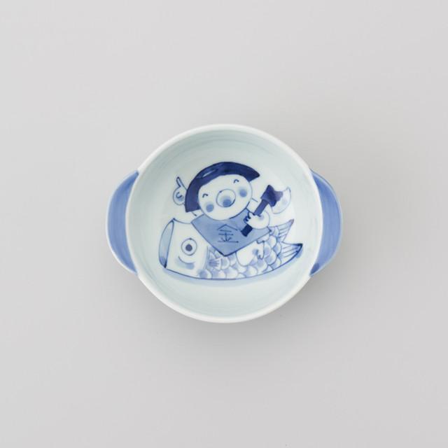 """【青花Kids】""""童話""""丸耳付きグラタン椀(鯉のぼり金太郎)"""