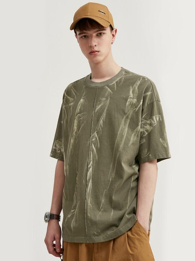 【即日出荷】タイダイ風ルーズTシャツ