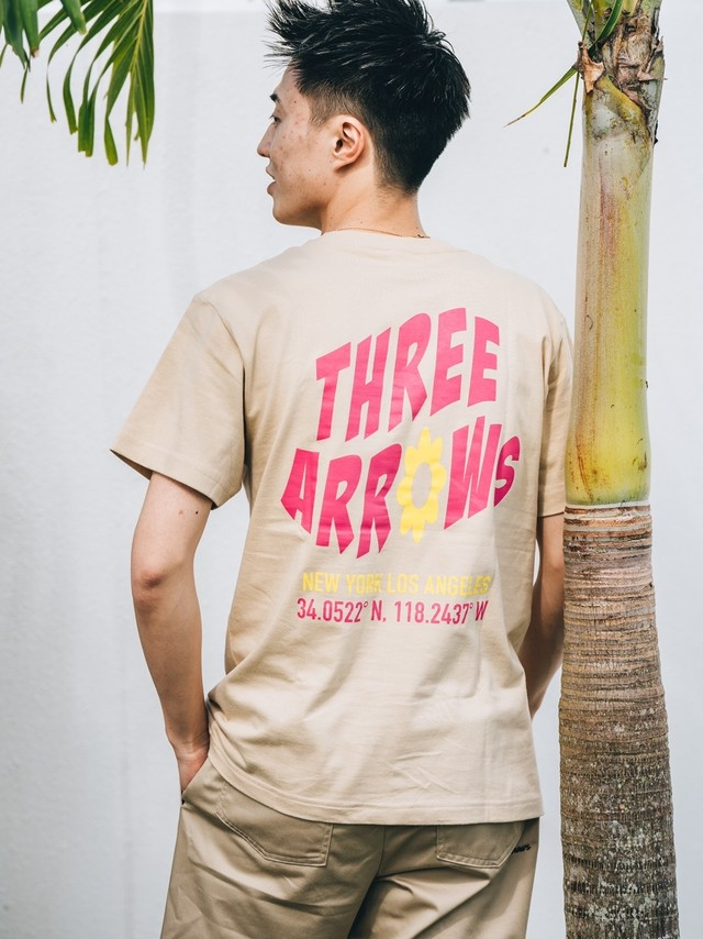 【4/7(WED)21:00販売開始】ThreeArrows S/S TEE(light purple)