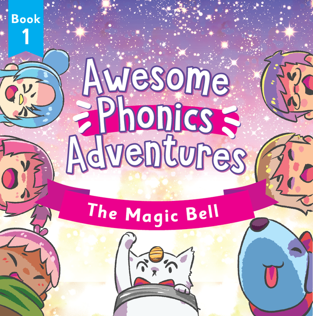 """【CD】Awesome Phonics Songs """"The Magic Bell"""" CD"""