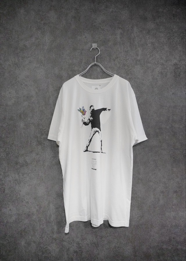 STOF  Banksy collaboration T-shirt White