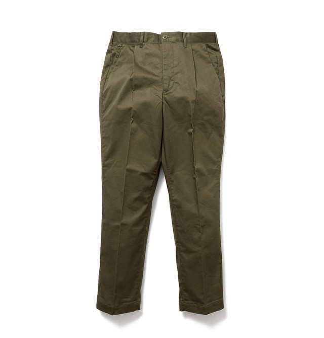 【SON OF THE CHEESE】Driving slacks(OLIVE)