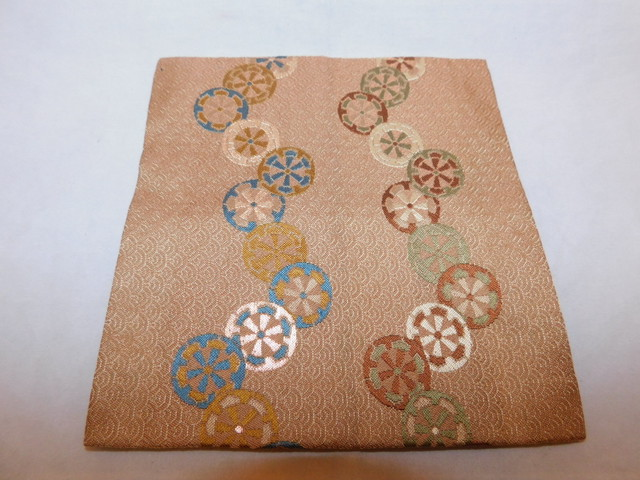 小袱紗a small silk cloth used in the tea ceremony (No12)