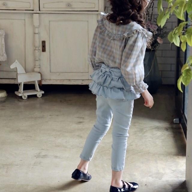 【先行予約】『puellaFLO』Bonnie SKINNY Pants