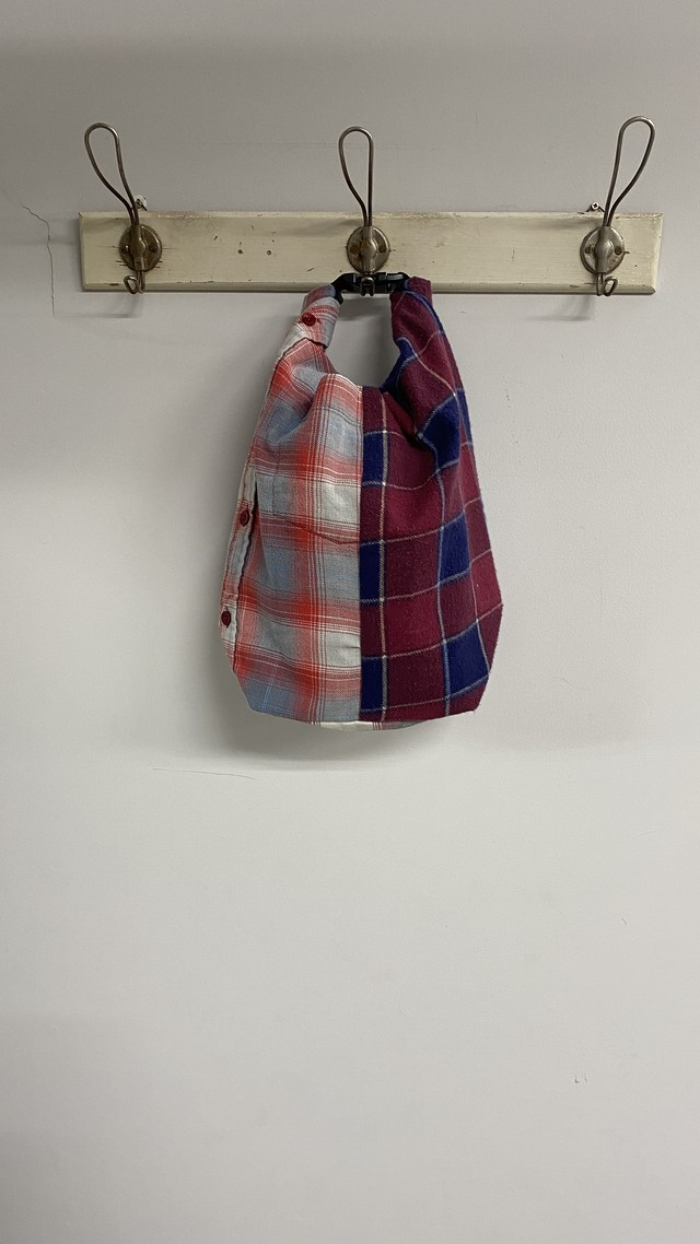 OLDPARK / ROLL TOP BAG(NEL)