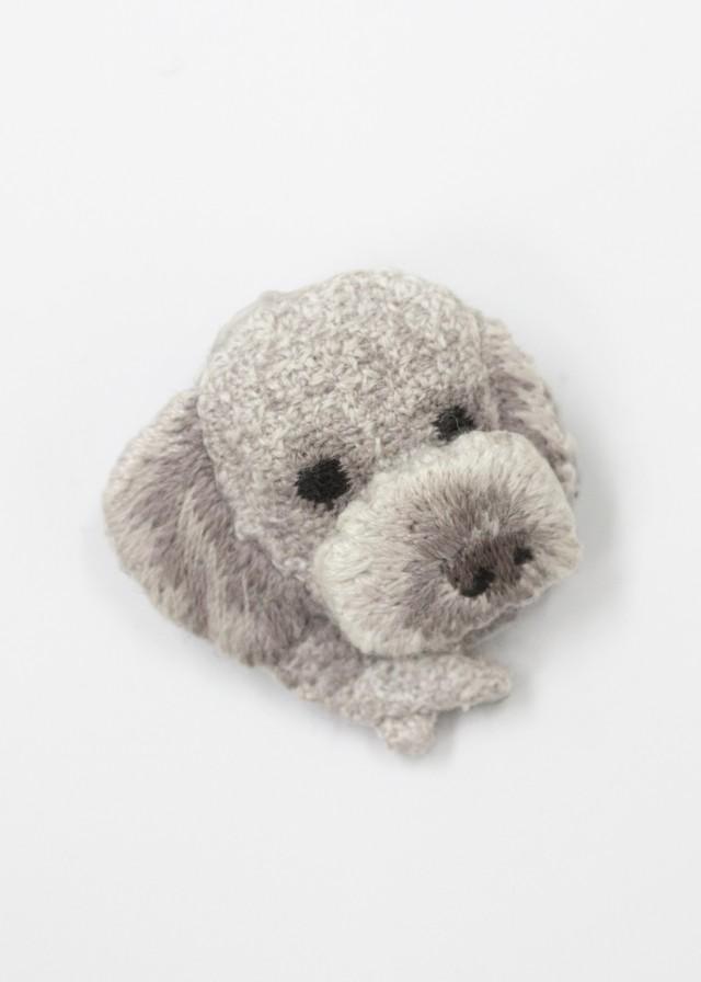 Polyvalent LM(ポリバレント  エルム)  刺繍ブローチ/DOG No.98920053/15