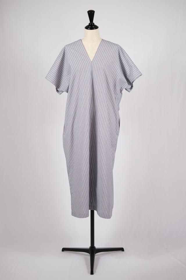 【cantáte】v neck dress / navy