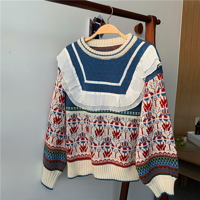 Retros design knit KRE701
