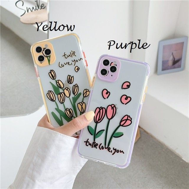 Tulips flower iphone case