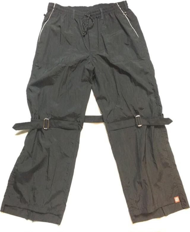 SKIN / nylon bondage pants(blk) - メイン画像