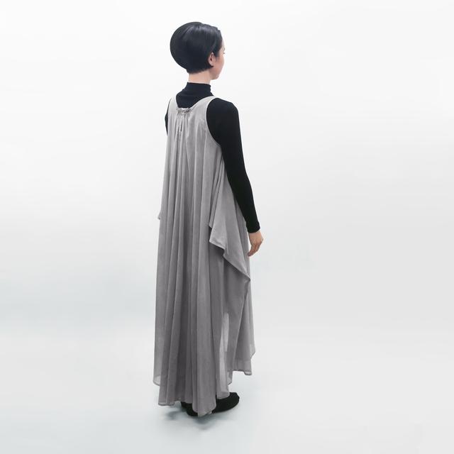 受注制/草木染/コクーンラインワンピース/OP-1
