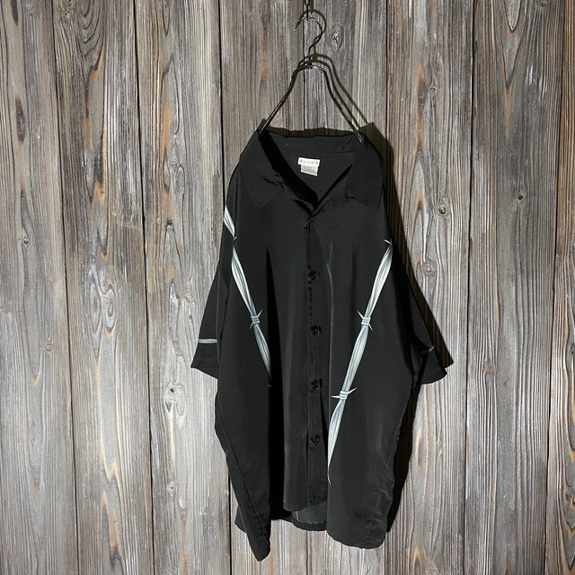 [used]wire designed shirt
