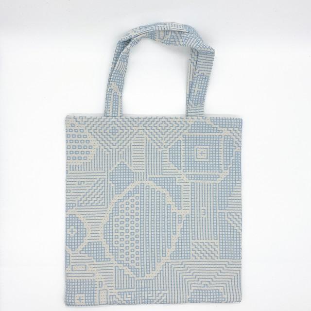 十布 福島の刺子織|ミニバッグ