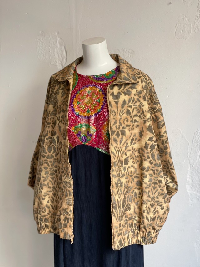 vintage pattern jacket made in USA